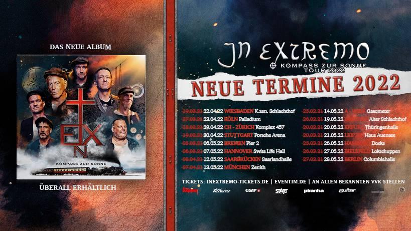 In Extremo - Kompass zur Sonne Tour!