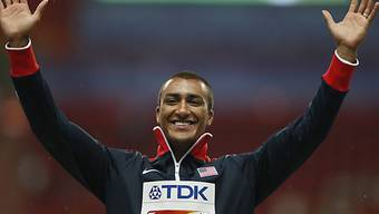 Ashton Eaton hat gut lachen.