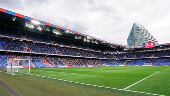 Schon wieder Vergangenheit: Der  FC Basel muss wieder vor (fast) leeren Rängen spielen.