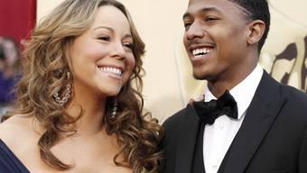 Mariah Carey mit ihrem Mann Nick Cannon (Archiv)