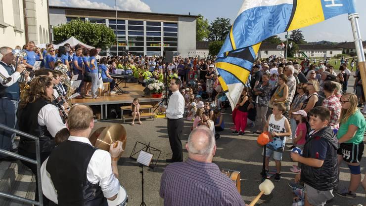 Die Musikgesellschaft Luterbach feierte ihr 100-jähriges Bestehen.