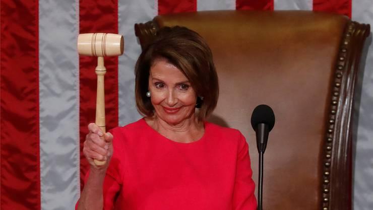 Will Präsident Trump die Stirn bieten: «Madam Speaker» Nancy Pelosi. REUTERS