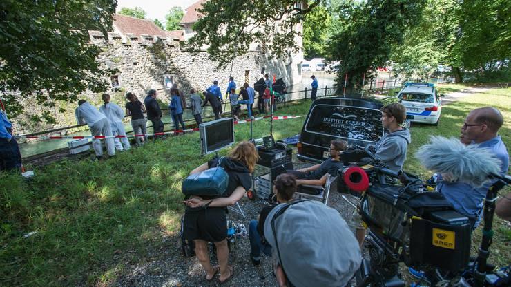 Die Film-Crew zählt über 30 Personen