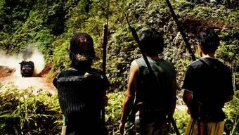 Bruno Manser setzte sich bis zu seinem Verschwinden für den Schutz des Urwaldes auf Borneo ein.