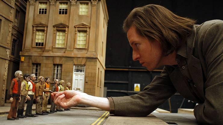 Wes Anderson drehte nicht im Computer, sondern mit Puppen und Modellen.