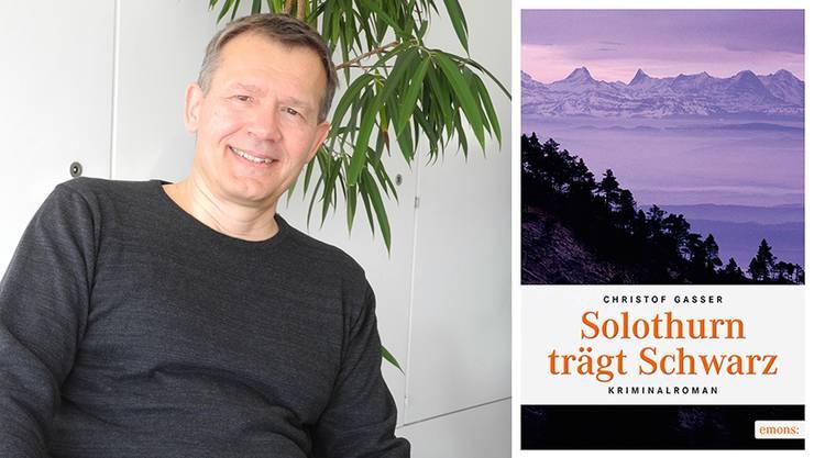 Christof Gasser aus Oberdorf freut sich über den Erfolg seines ersten Krimis