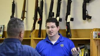 Noch floriert das Geschäft mit Waffen in den USA (Symbolbild)