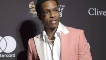 Will nach einer gewalttätigen Auseinandersetzung in Schweden nicht zurück in den Knast: US-Rapper Asap Rocky.