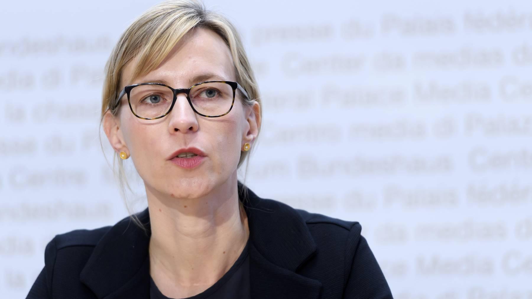 Isabella Eckerle vom Univeritätsspital Genf hat kein Verständnis für Diskussionen um die Maskenpflicht.