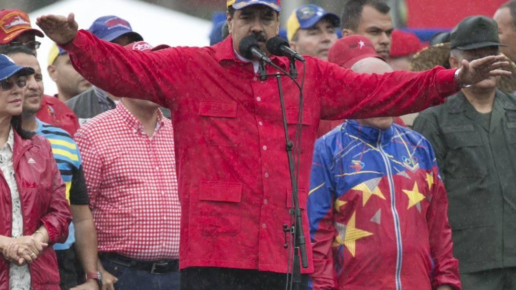 UNO soll die Probleme regeln: Venezuelas Präsident Maduro hofft auf Hilfe wegen Gesundheitsnotstand. (Archivbild)