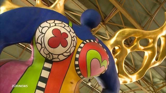 Blauer Engel aus Zürcher Hauptbahnhof bekommt neuen Glanz