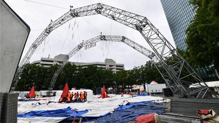 Der Circus Knie wird sein Zelt wohl nur noch einige wenige Jahre auf der Rosentalanlage aufbauen können.
