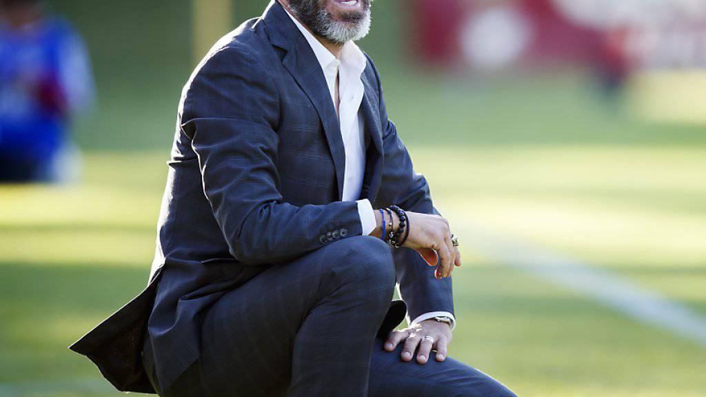 Der Italiener Paolo Tramezzani ist zum Siegen verdammt