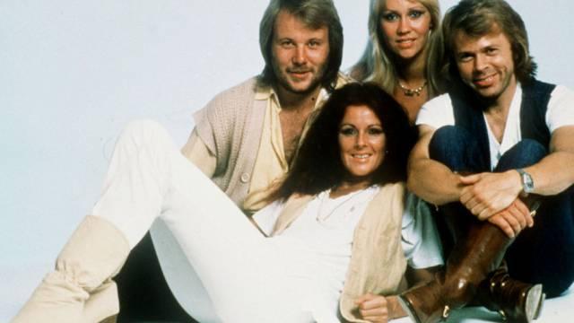 ABBA im Jahr 1979, als die Wembley-Aufnahmen gemacht wurden