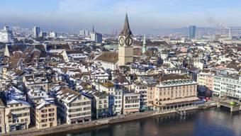 In der Stadt Zürich soll eine innere Verdichtung stattfinden (Symbolbild)