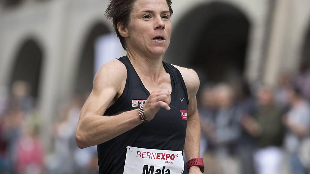 Maja Neuenschwander hält den Schweizer Rekord im Marathon (Archivbild)