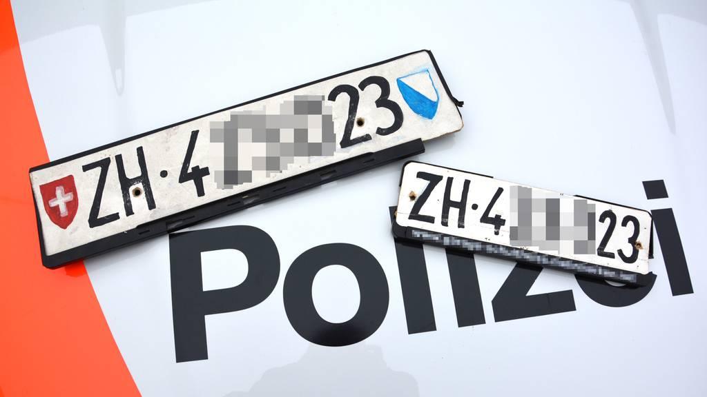 Blaufahrerin festgenommen – mit gefälschten Kontrollschildern fuhr sie bis zu 179 km/h