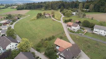 Der Juchächer (oben rechts) in Oberwil-Lieli.