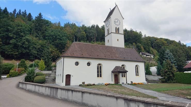 Die Kirche in Leerau.