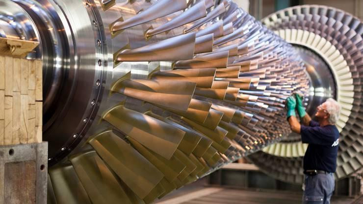 Um Alstoms Produktion von Zügen und Turbinen (hier das Werk in Birr) wird hinter den Kulissen gefeilscht.Gaetan Bally / KEYSTONE