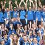 Der Turnverein Riehen freut sich über ihren gewonnen Titel.