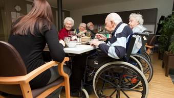«Menschen, die ins Heim eintreten, blühen oftmals nochmals auf»: Für Andre Rotzetter macht ein Heim dann Sinn, wenn der Betagte an Lebensqualität gewinnt. key