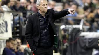 Dritte Niederlage in Serie für Gladbach-Coach Lucien Favre