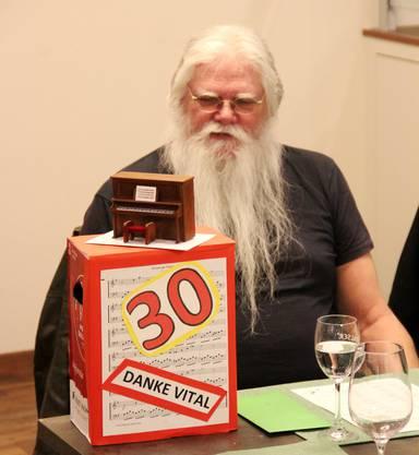 Vital Pürro - 30 Jahre Chorleitung