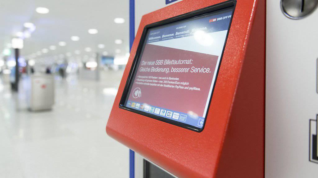 Die SBB hat derzeit IT-Probleme: So funktionieren etwa die Verkaufssysteme der SBB nicht. (Archivbild)