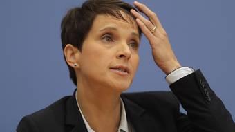 Die ehemalige Chefin der AfD, Frauke Petry, erwartet ihr sechstes Kind. (Archivbild)