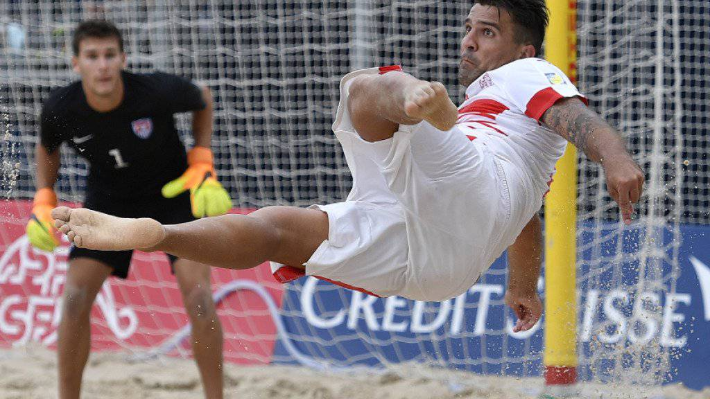 Der Schweizer Top-Torschütze Dejan Stankovic im vergangenen August beim WM-Qualifikationsspiel gegen Spanien (8:4)