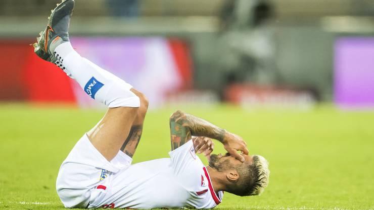 Bild mit Symbolcharakter: Valon Behrami ist beim FC Sion gestrauchelt