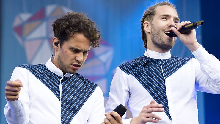 Die erfolgreichen Berner Musiker Lorenz Häberli und Luc Odier alias Lo & Leduc wagen sich in neue Sphären vor: Sie haben in einem Animationsfilm zwei Bibern ihre Stimme geliehen. (Archivbild)