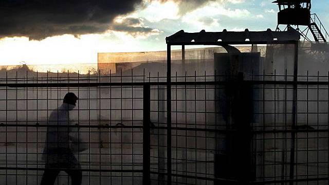 Checkpoint an der israelischen Grenze