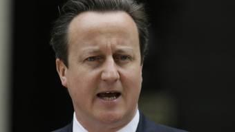 Der britische Premierminister David Cameron (Archiv)