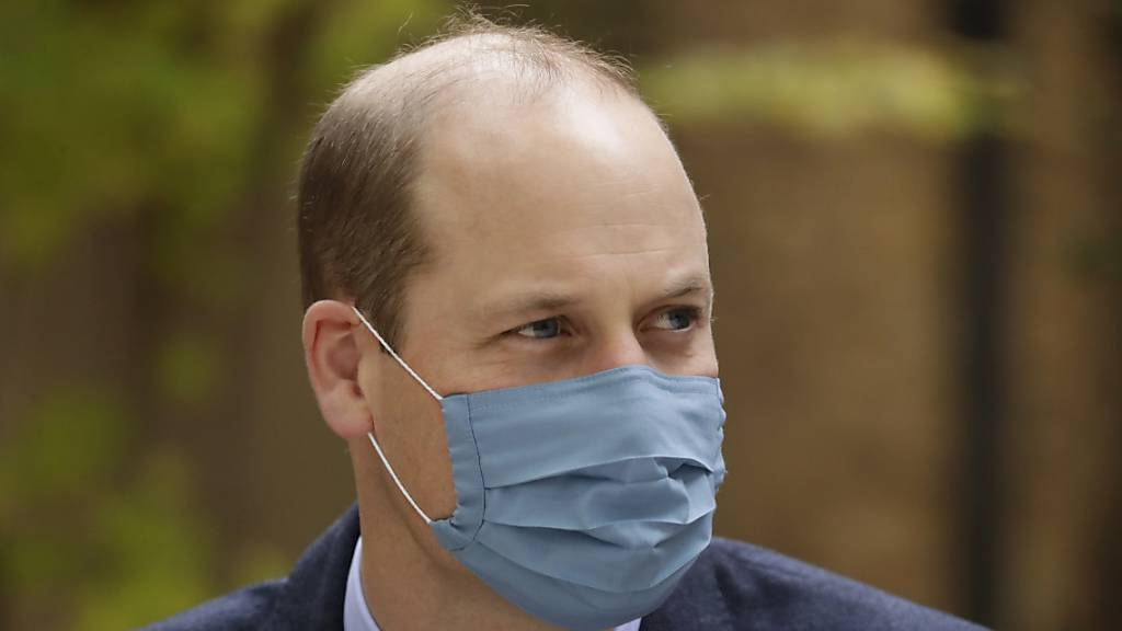 Prinz William war im Frühjahr an Covid-19 erkrankt