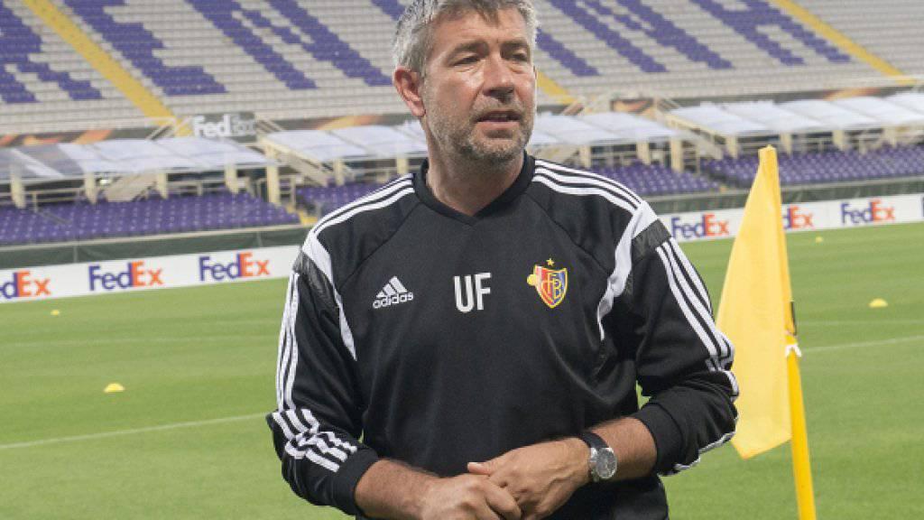 Urs Fischer trifft zum Auftakt der Europa-League-Gruppenphase auf seinen Vorgänger als FCB-Trainer