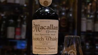 Zwei Centiliter des Macallans kosteten 9999 Franken. Dabei war das edle Getränk eine Fälschung.