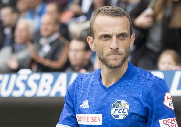 Mittelfeld FC Luzern über die Mittelfeldspieler Fabian Frei und Djibril Sow