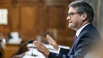 """""""Wir müssen alles tun, um uns vom Öl zu befreien"""": SP-Parteipräsident und Freibruger Ständerat Christian Levrat. (Archivbild)"""