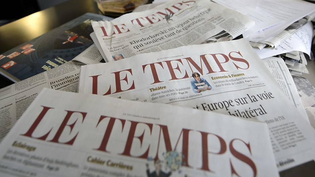 «Le Temps» in neuen Händen: Die Stiftung Aventinus in Carouge GE kauft den Verlag Ringier Axel Springer Schweiz AG die Westschweizer Zeitung ab. (Archivbild)