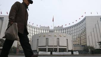 China will ähnliche Digitalwährung wie Facebook herausbringen. (Archiv)