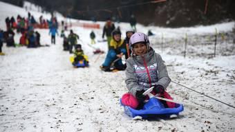 Der Skilift Rotberg konnte bereits am 7. Januar eröffnen – heute läuft er erneut.
