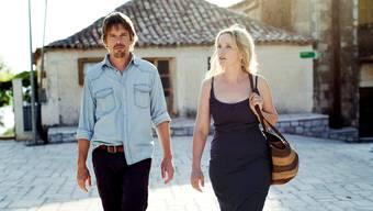 Beziehungskrise in den Ferien: Der US-Amerikaner Jesse (Ethan Hawke) und seine Frau, die Französin Céline (Julie Delpy).Rialto