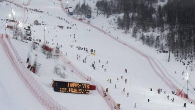 Zu viel Schnee in Val d\'Isere