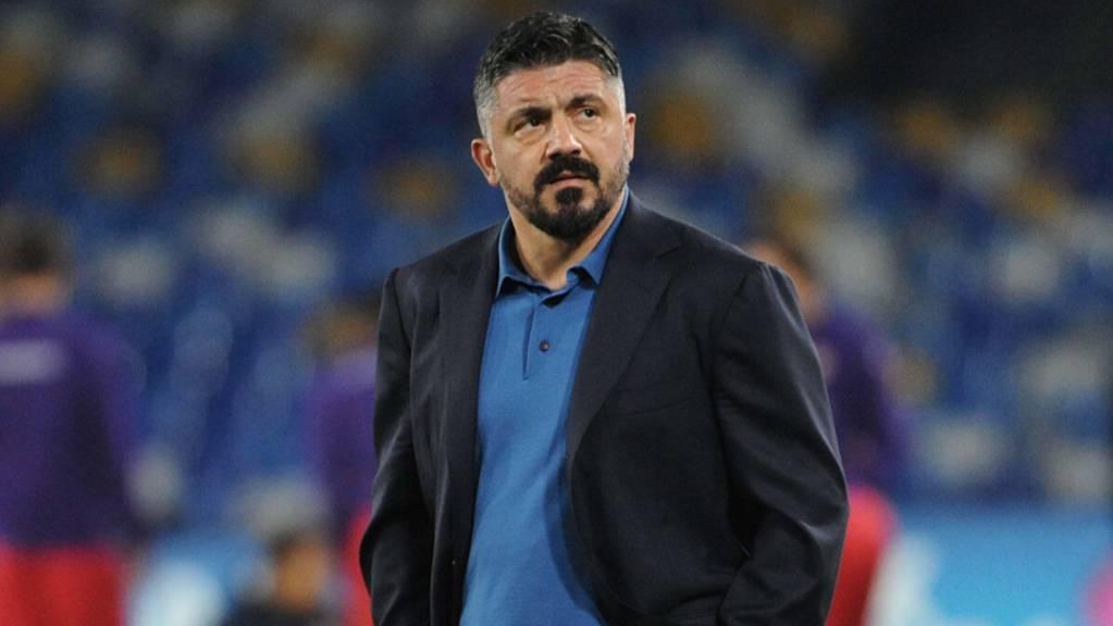Napolis Trainer Gennaro Gattuso will der verstorbenen Klublegende Diego Maradona einen Titel widmen