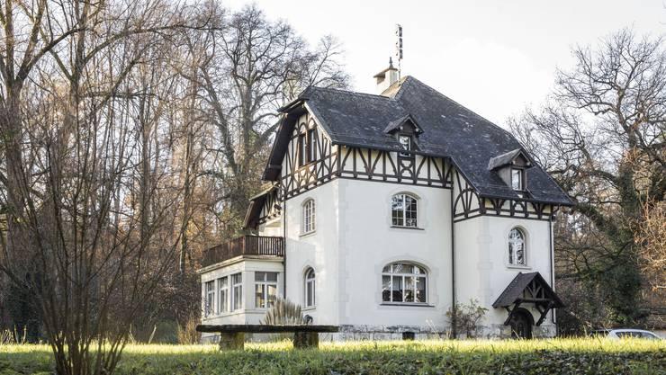 Die Glanzzeiten der Villa Ermitage sind längst vorbei. 1901 wurde sie erbaut.