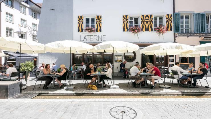 Aarau, 16. September: Die Stiftung Wendepunkt will den Betrieb ihres Restaurants im Herzen der Aarauer Altstadt per Ende Januar 2021 einstellen. Die Zukunft des Lokals ist ungewiss.