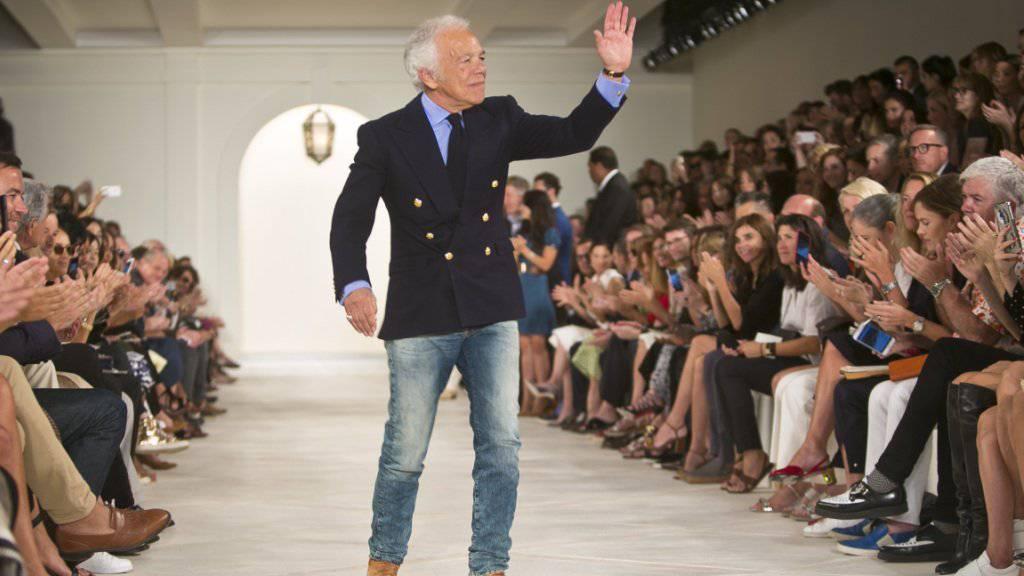 Modedesigner Ralph Lauren sagt Adieu an der Spitze seines Unternehmens.