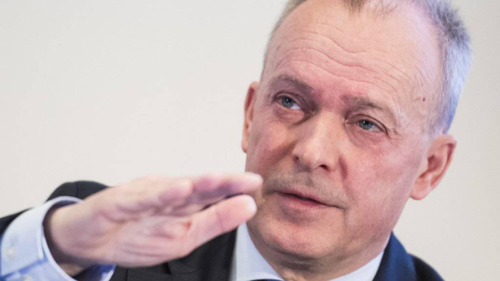 """""""Ich verstehe, dass Menschen Ängste haben"""": Swisscom-Chef Urs Schaeppi. (Archivbild)"""